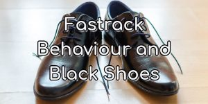 Fastrack Behaviour and Black School Shoes