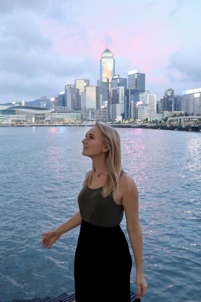 Katie in Hong Kong